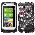 BasAcc Skull Diamante Case for HTC Radar 4G