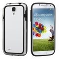 BasAcc Black/ Clear MyBumper Case for Samsung Galaxy S IV/ S4