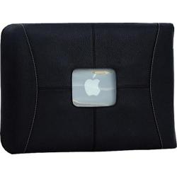 MacCase 11in Premium Leather Macbook Air Sleeve Black