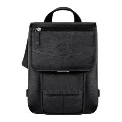 MacCase Premium Leather iPad Flight Jacket/Backpack Opt Black