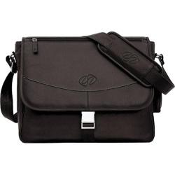 MacCase Premium Leather Small Shoulder Bag Chocolate