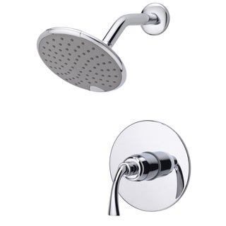 Fontaine Adelais Chrome Single Handle Shower Faucet with Valve