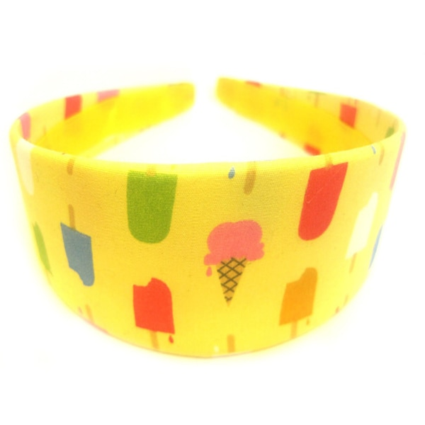 Crawford Corner Shop Ice Creamsicle Yellow Headband