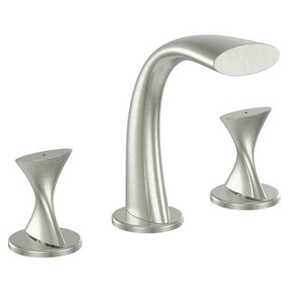 Fontaine Adelais Brushed Nickel Widespread Bathroom Faucet