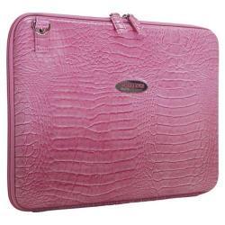 Women's Mobile Edge Faux Croc TechStyle Portfolio- 14.1inPC/15inMac Pink