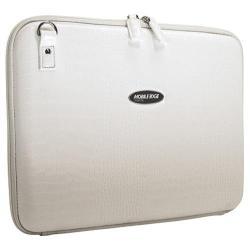 Women's Mobile Edge Faux Croc TechStyle Portfolio- 14.1inPC/15inMac White