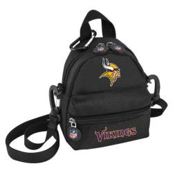NFL Luggage Mini Me Backpack Minnesota Vikings/Black