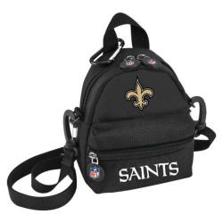 NFL Luggage Mini Me Backpack New Orleans Saints/Black