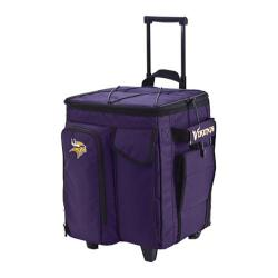 Men's NFL Luggage Tailgate Cooler with Trays Minnesota Vikings/Purple
