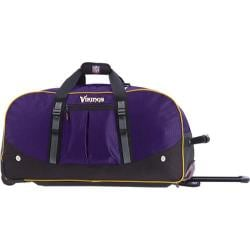 Men's NFL Luggage Wheeling Packaged Duffel 24in Minnesota Vikings/Purple