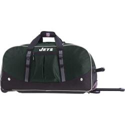Men's NFL Luggage Wheeling Packaged Duffel 24in New York Jets/Green