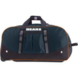 Men's NFL Luggage Wheeling Packaged Duffel 35in Chicago Bears/Dark Navy