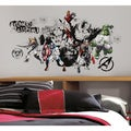 Avengers Assemble Black & White Graphic Peel & Stick Wall Decals