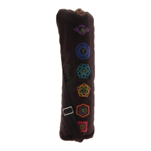 OmSutra Chakra Yoga Mat Bag (Duffel) Black