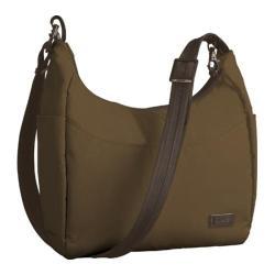 Women's Pacsafe CitySafe 100 Travel Handbag Walnut
