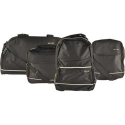 Pak & Go The Director 4 Piece Carry Bag Set Black