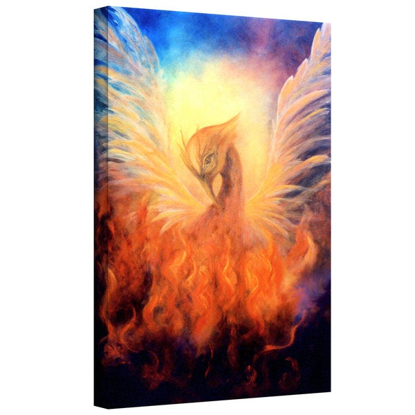 Marina Petro 'Phoenix Rising' Gallery-Wrapped Canvas