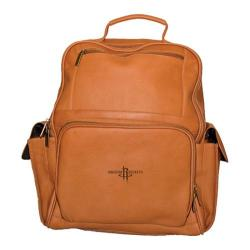 Pangea Large Computer Backpack PA 352 NBA Houston Rockets/Tan