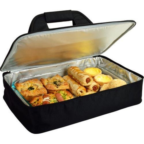 picnic at ascot insulated casserole carrier black 15426475 shopping big. Black Bedroom Furniture Sets. Home Design Ideas