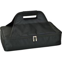 Picnic at Ascot Insulated Casserole Carrier Black