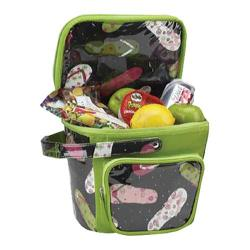 Picnic at Ascot Beach Bucket Cooler Black Flip Flop