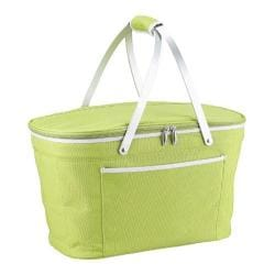 Picnic at Ascot Collapsible Insulated Basket Apple Green