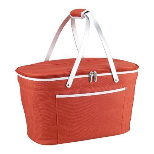 Picnic At Ascot Collapsible Insulated Picnic Basket : Picnic at ascot collapsible insulated basket orange