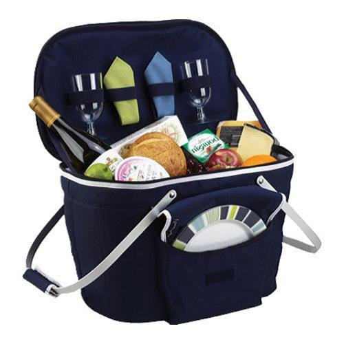 Picnic At Ascot Collapsible Insulated Picnic Basket : Picnic at ascot collapsible insulated basket for