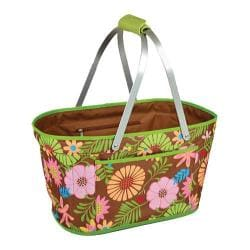 Picnic at Ascot Collapsible Market Basket Floral