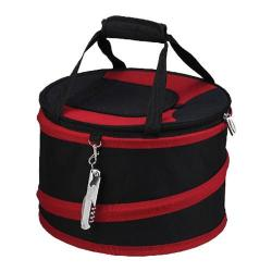 Picnic at Ascot Collapsible Picnic Cooler Black/Red