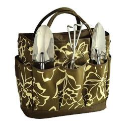 Picnic at Ascot Gardening Tote Set Olive Floral