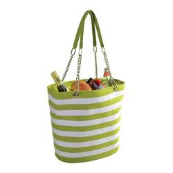 Picnic at Ascot Insulated Cooler Tote Apple/White Stripe