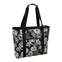 Picnic at Ascot Large Insulated Cooler Tote Night Bloom