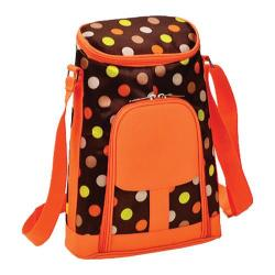 Picnic at Ascot Two Bottle Carrier and Cheese Set Julia Dot