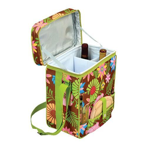 Picnic at Ascot Wine and Cheese Cooler Floral