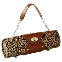 Women's Wine Carrier/Purse Leopard