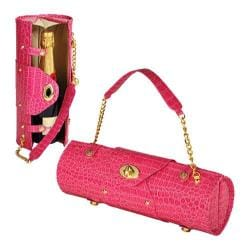 Women's Wine Carrier/Purse Pink