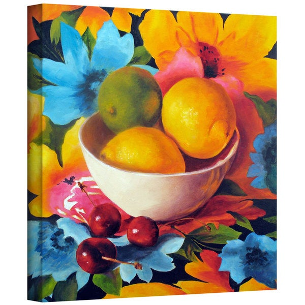 Marina Petro 'Cherry Surprise' Gallery-Wrapped Canvas