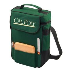 Picnic Time Duet Cal Poly Mustangs Embroidered Hunter Green