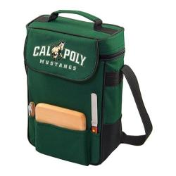 Picnic Time Duet Cal Poly Mustangs Print Hunter Green