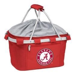 Picnic Time Metro Basket Alabama Crimson Tide Print Red