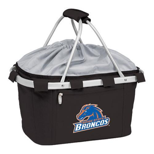 Picnic Time Metro Basket Boise State Broncos Embroidered Black
