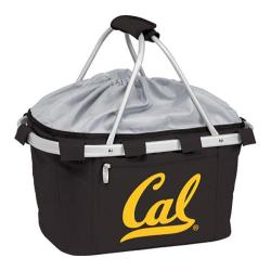 Picnic Time Metro Basket California Golden Bears Print Black