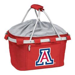 Picnic Time Metro Basket University of Arizona Wildcats Print Red