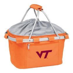 Picnic Time Metro Basket Virginia Tech Hokies Embroidered Orange