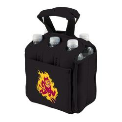 Picnic Time Six Pack Arizona State Sun Devils Black