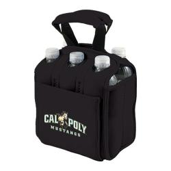 Picnic Time Six Pack Cal Poly Mustangs Black