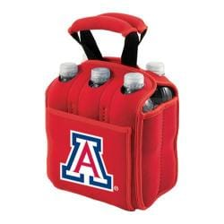 Picnic Time Six Pack University of Arizona Wildcats Red