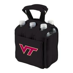 Picnic Time Six Pack Virginia Tech Huskies Black