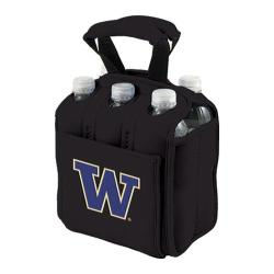 Picnic Time Six Pack Washington Huskies Black